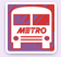 Akron Metro Bus Sign Logo